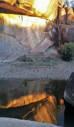 Reflections at Cranky Rock, via Warialda